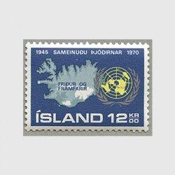アイスランド 1970年国連25年