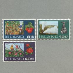 アイスランド 1972年温泉利用3種