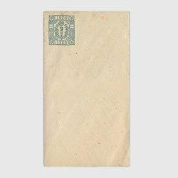 切手つき封筒・角形1銭