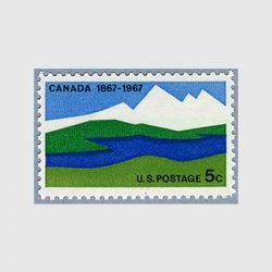 アメリカ 1967年カナダ100年