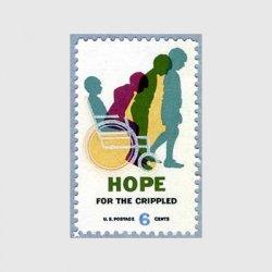 アメリカ 1969年 身障者社会復帰