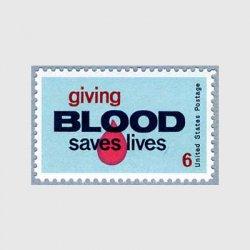 アメリカ 1971年 献血運動
