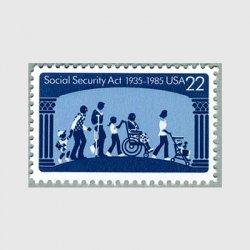 アメリカ 1985年 社会保障法50年