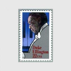 アメリカ 1986年ジャズ作曲家、ピアノ奏者デューク・エリントン