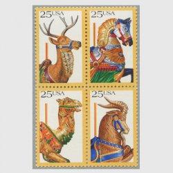 アメリカ 1988年回転木馬4種連刷
