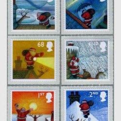 イギリス 2004年クリスマス切手