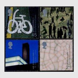 イギリス 2000年 千年紀17次 美術と工芸4種