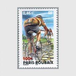 フランス 2002年パリ、ルーベ間自転車競技大会100年