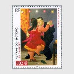 フランス2002年 ボテロ画「踊り」
