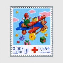 フランス 2000年赤十字切手