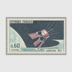 フランス 1966年人工衛星D1号打ち上げ