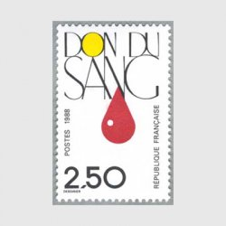 フランス1988年 献血