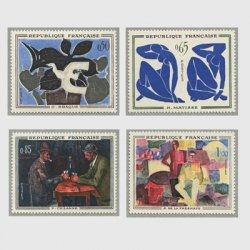 フランス1961年 美術切手4種