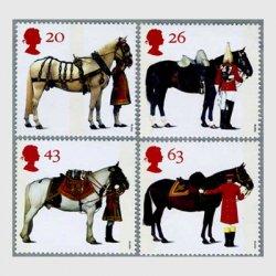 イギリス1997年女王の馬4種