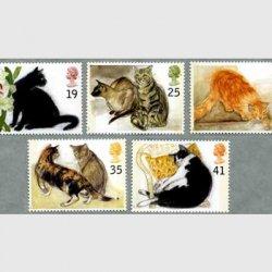 イギリス 1995年ネコ5種