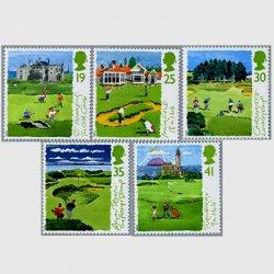 イギリス 1994年スコットランドのゴルフ場5種