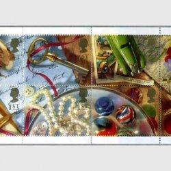 イギリス1992年グリーティング切手「思い出」