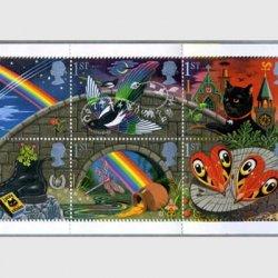 イギリス 1991年グリーティング切手切手帳