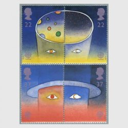 イギリス1991年ヨーロッパ切手4種