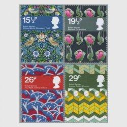イギリス 1982年イギリスの織物4種