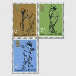イギリス1973年州対抗クリケット100年3種