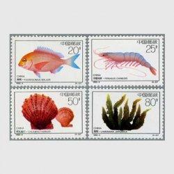 中国 1992年近海養殖4種