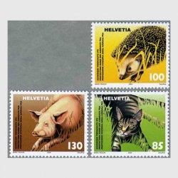 スイス 2004年動物保護3種