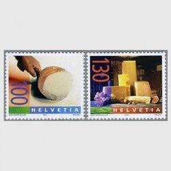 スイス 2004年チーズ2種
