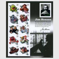 アメリカ 2005年ジム・ヘンソンとマペットたちシート