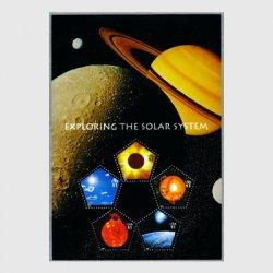 アメリカ 2000年太陽系の探査小型シート