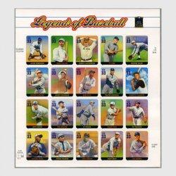 アメリカ 2000年有名野球選手20面シート