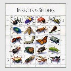 アメリカ 1999年昆虫とクモシート