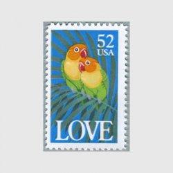 アメリカ 1991年愛の切手1991年オウム