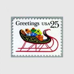 アメリカ 1989年クリスマスそり