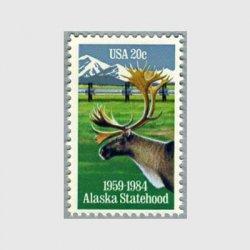アメリカ 1984年アラスカ州25年