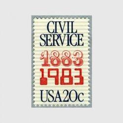 アメリカ 1983年公務員制度100年