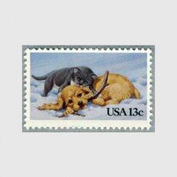 アメリカ 1982年子イヌと子ネコ