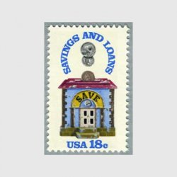 アメリカ 1981年貯金ローン協会150年