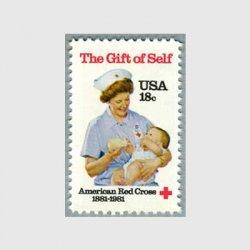 アメリカ 1981年米国赤十字社100年