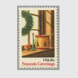アメリカ 1980年クリスマス窓辺のおもちゃ