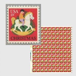 アメリカ 1978年クリスマスおもちゃの馬
