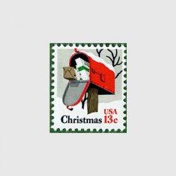 アメリカ 1977年クリスマス郵便受