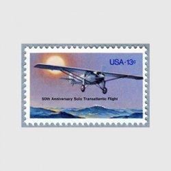 アメリカ 1977年大西洋横断飛行50年