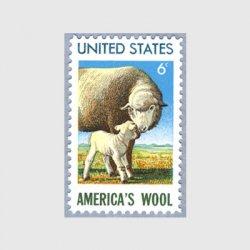 アメリカ 1971年羊毛産業450年