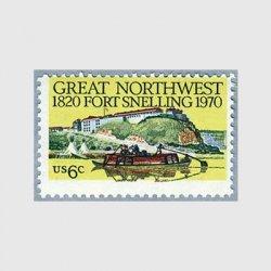 アメリカ 1970年スネリング要塞150年