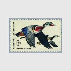 アメリカ 1968年水鳥保護アメリカオシドリ