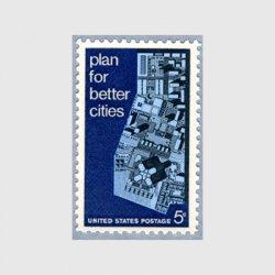 アメリカ 1967年都市計画