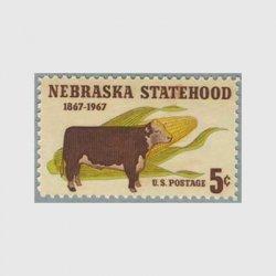 アメリカ 1967年ネブラスカ州100年