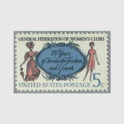 アメリカ 1966年全米婦人クラブ連盟75年