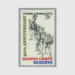 アメリカ 1966年予備役海兵隊50年